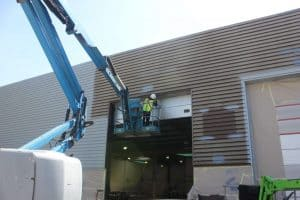 Full Respray and Dilapidation Service on Commercial Property
