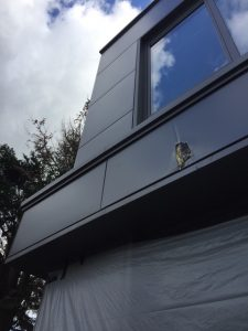 Professional Cladding Repair Service & On Site Respray