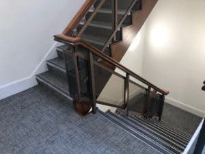 On Site Intumescent Coatings Project, Spraying 25 Lift Doors & Stair Cases with Fireproof Paint