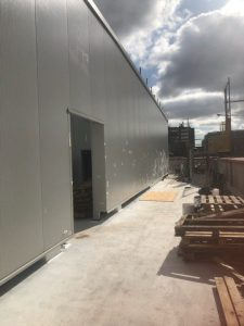 Kingspan Cladding Panel Repairs with Plastisol PVC Paint