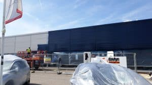 On Site Cladding Repair and Painting