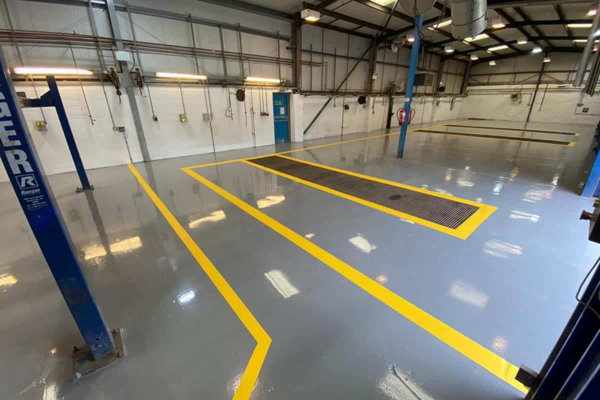 Commercial Floor Painting Services