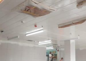 Ceiling Paint Spraying & Tile Spraying