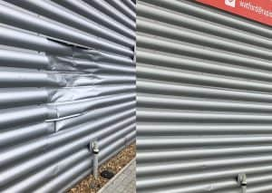 Cladding Repairs (before and after)