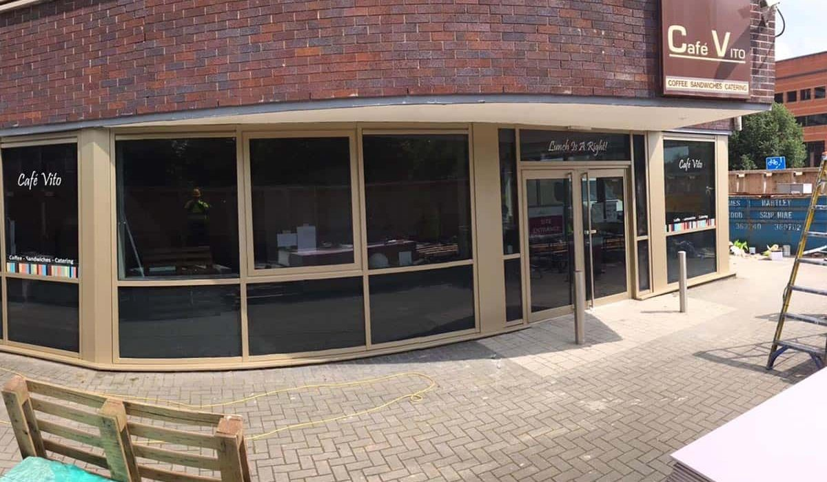Shop Front Spraying & Paint Services